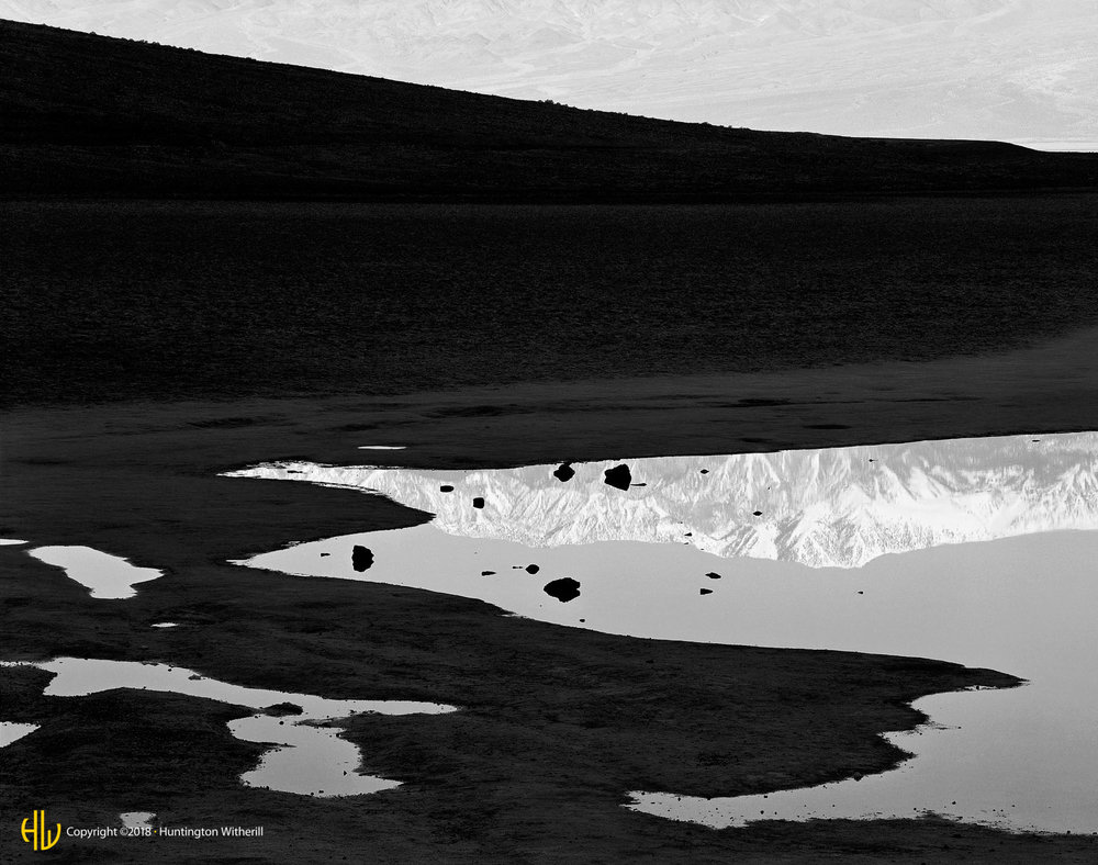 Reflections, Badwater, Death Valley, CA, 1980