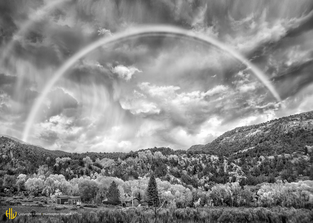 Rainbow, Near Rifle, CO, 2014
