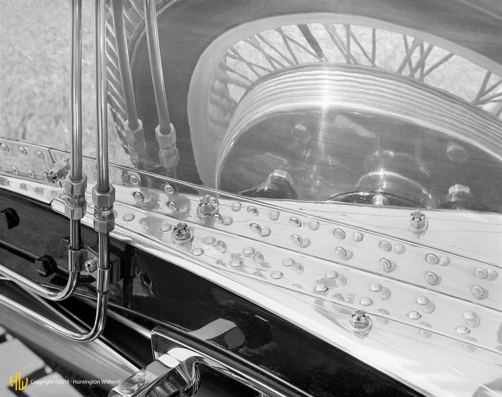 Reflection Detail, 1927 Bugatti, 1989