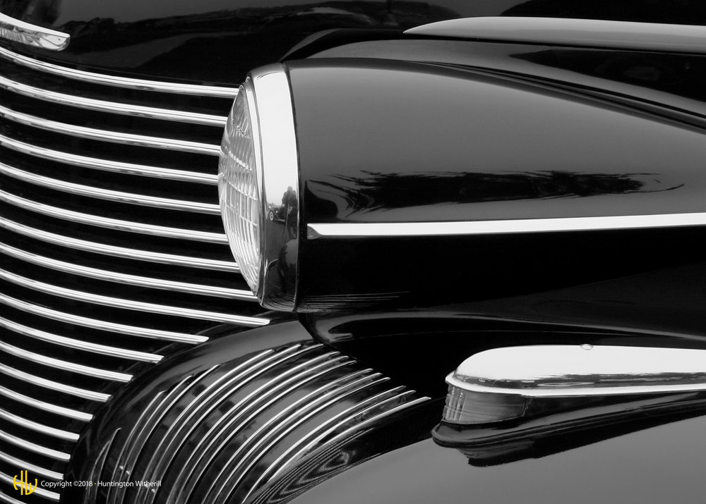 Headlamp, 1940 Cadillac Series 75, 2005