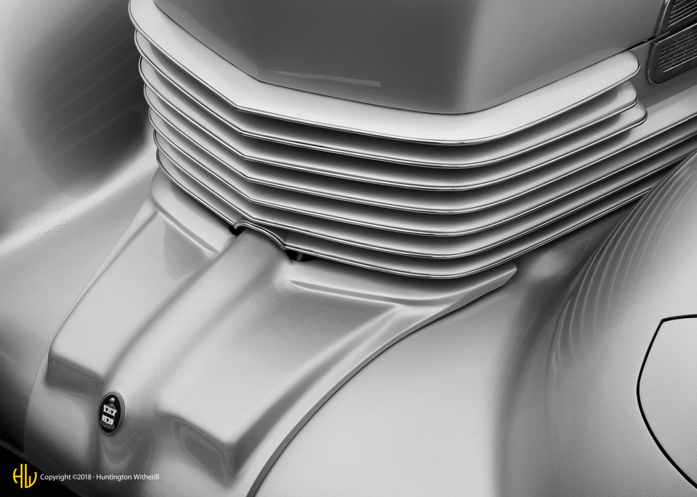 Grille Detail, 1936 Cord 810 Phaeton Sedan, 2008
