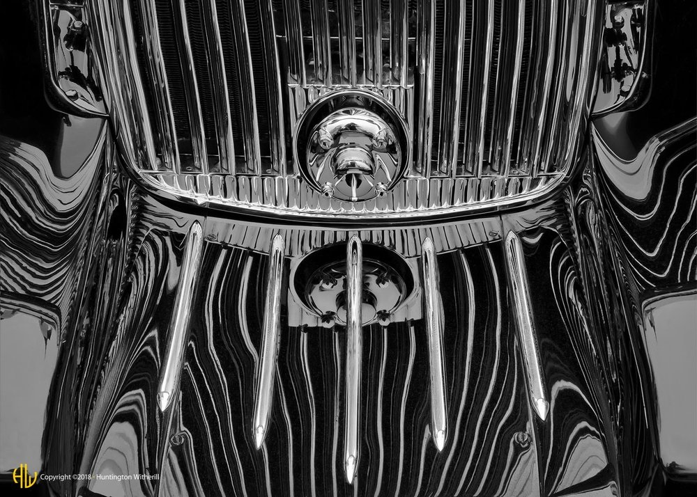 Grille Detail #2, 1933 Hispano Suiza, 2008