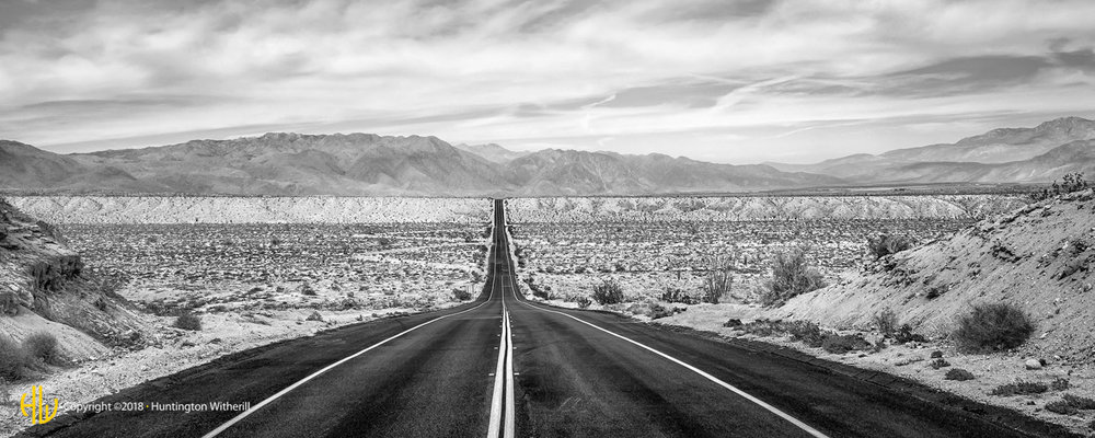 Route S22, Anza Borrego Desert, CA, 2018