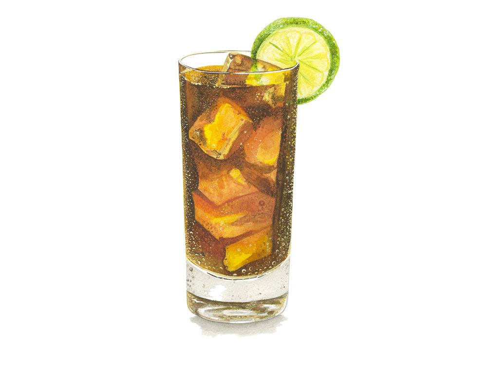 Cuba Libre | Mid-Century Cocktail Series