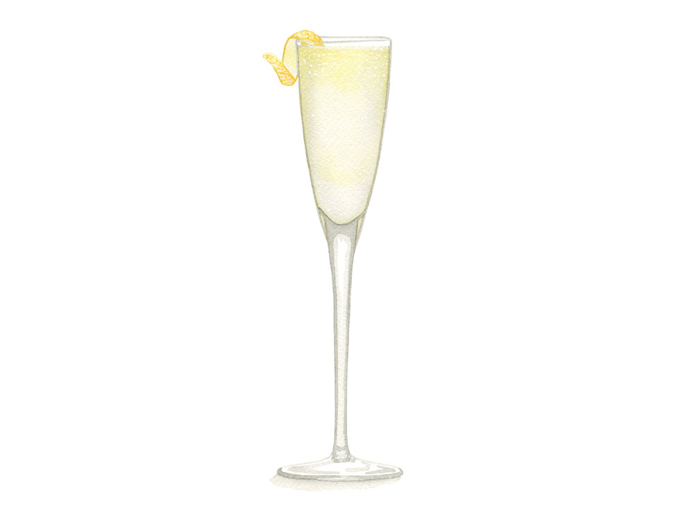 French 75 | Mid-Century Cocktail Series