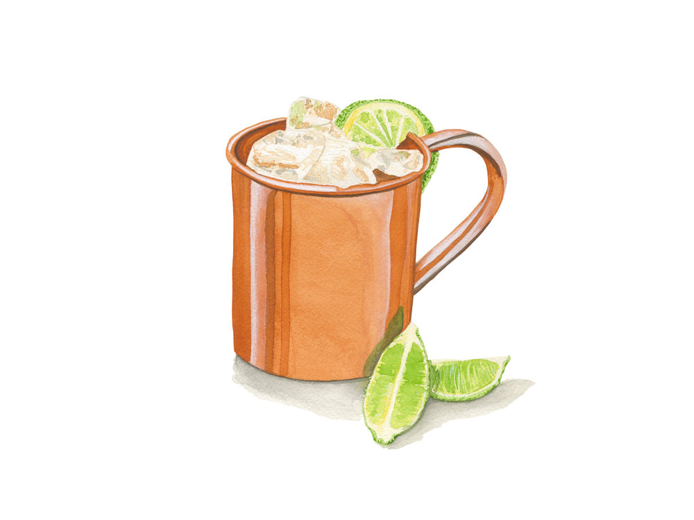 Moscow Mule | Mid-Century Cocktail Series