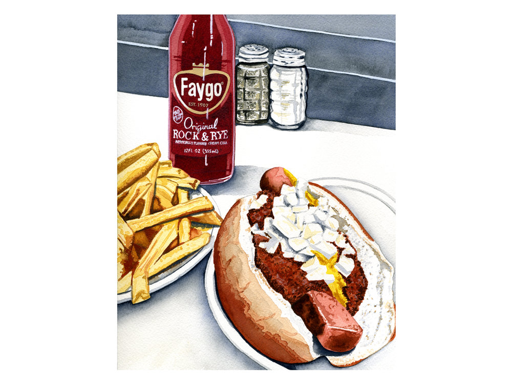 Faygo, Coney + Fries