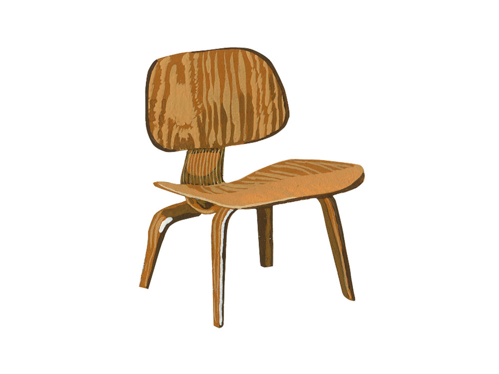 Molded Plywood | Mid-Century Chair Series