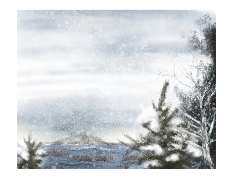 A Wintry View