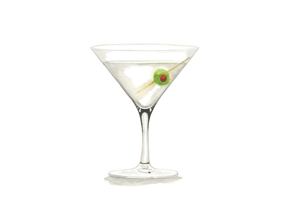 Classic Martini | Mid-Century Cocktail Series