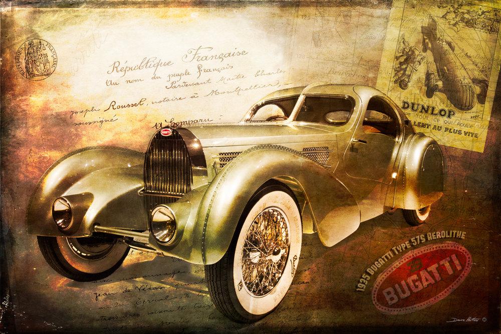 """Bugatti Aerolithe"""