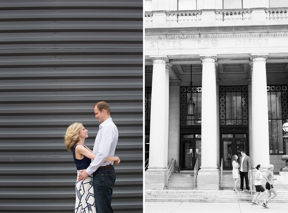 Columbus Ohio, Piqua Ohio, modern engagement photography, storytelling photography, black and white photography