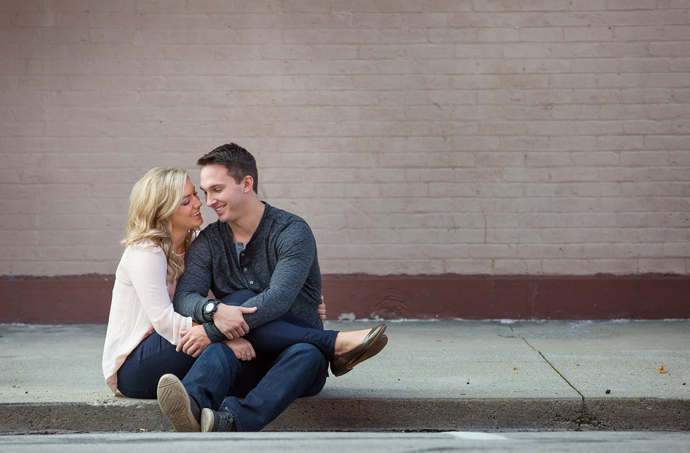 Greenville Ohio, real engagement photography, emotional photography, modern engagement photography, lovestory