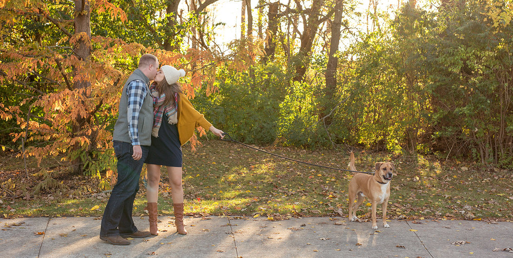 Columbus Ohio, Dublin Ohio, fall engagement photography, storytelling photography