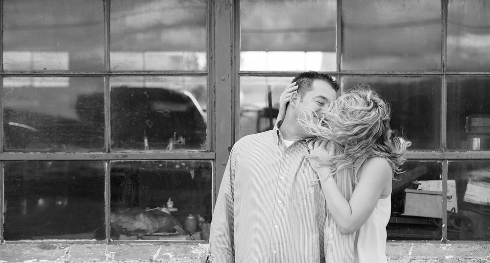 North Star Ohio, black and white photography, storytelling engagement photography, modern engagement photography