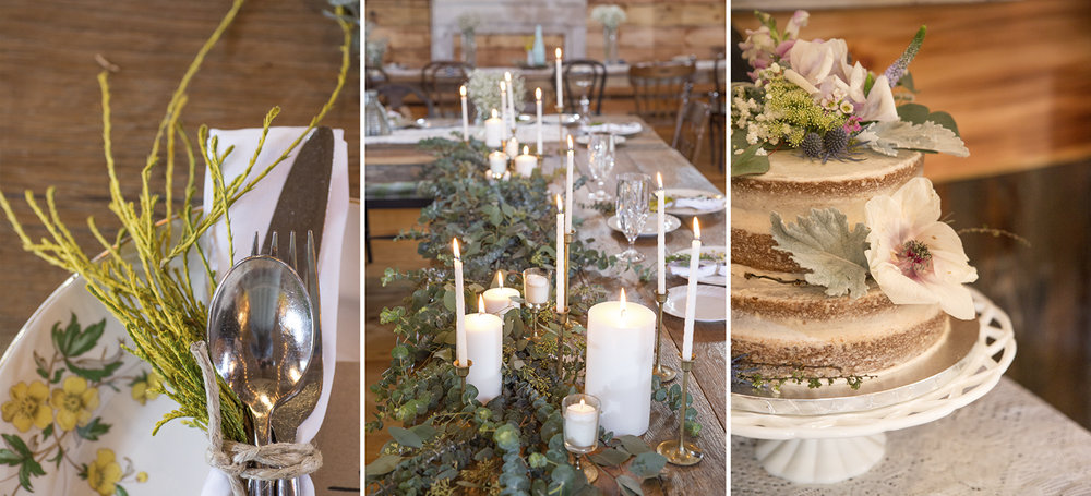 Ashland North Carolina, rustic wedding, Memory Mountain at Wolf Laurel, reception details