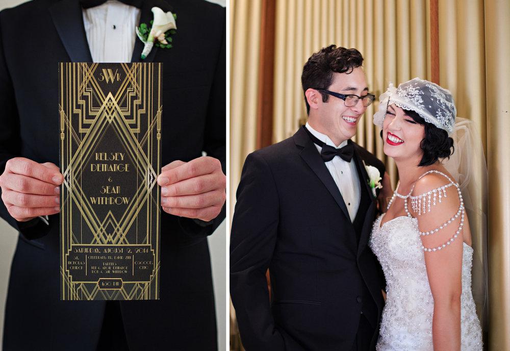 Osgood Ohio, 1920 inspired wedding, Great Gatsby wedding, emotional wedding image, wedding details,