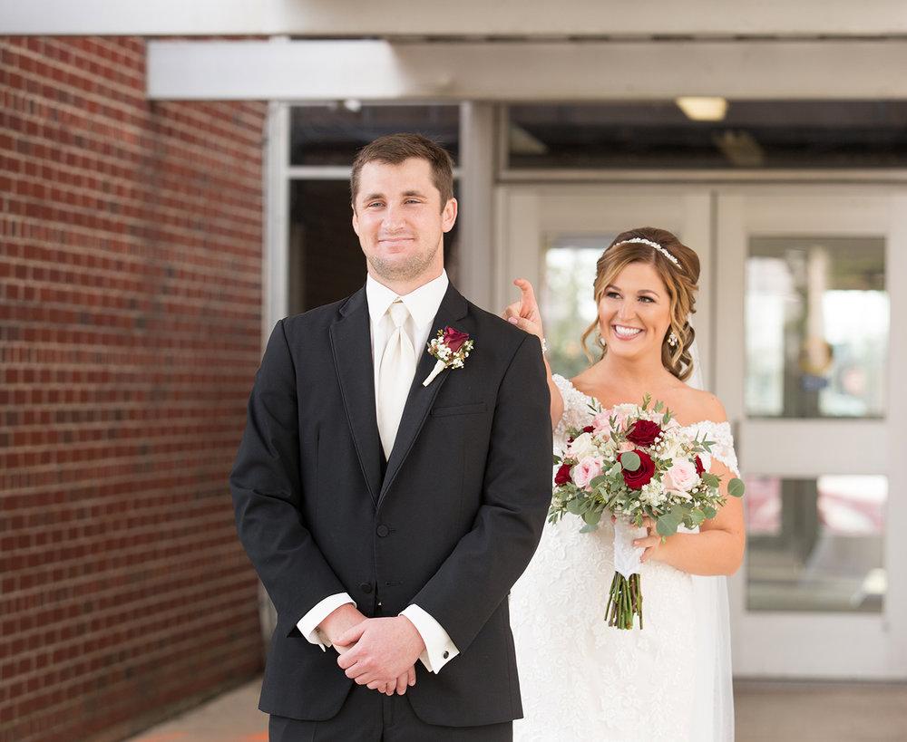 Celina Ohio, first glance, classic wedding photography, storytelling photography