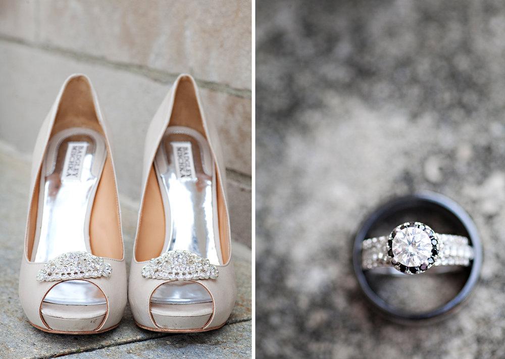 Minster Ohio, wedding details, Badgley Mischka