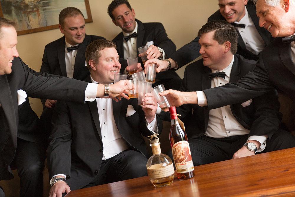 Celina Ohio, Romer's Catering, storytelling photography, groomsmen, wedding toast