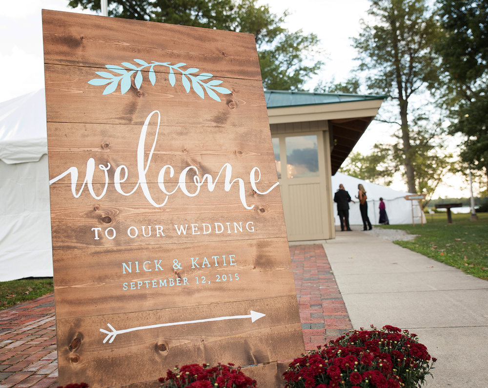 Minster Ohio, Ft Loramie Ohio, Earl's Island Pavilion, rustic wedding details, rustic wedding reception, rustic wedding