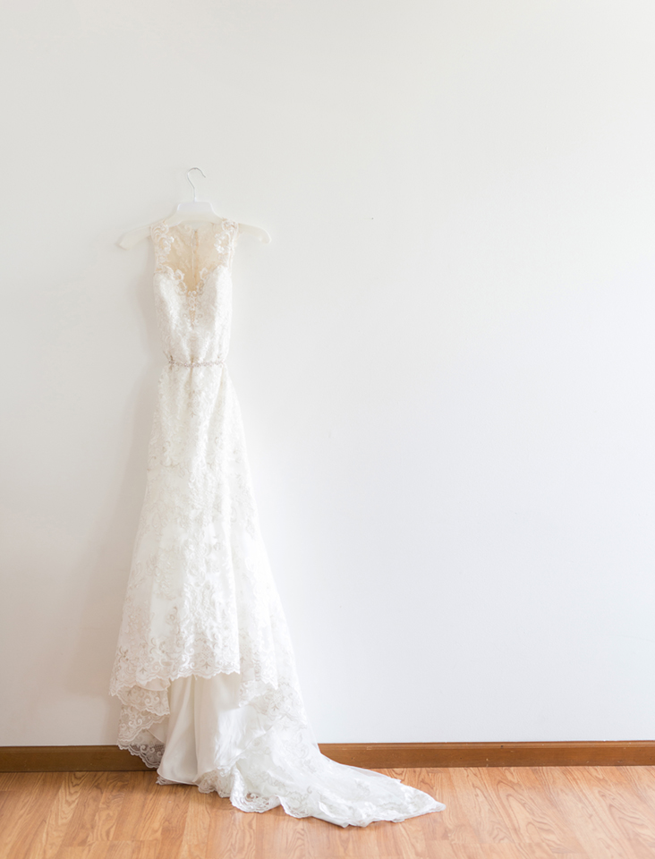 Bridal Dress Shop: Emmy's | Minster, OH Bridal Designer: Allure | lace, illusion dress