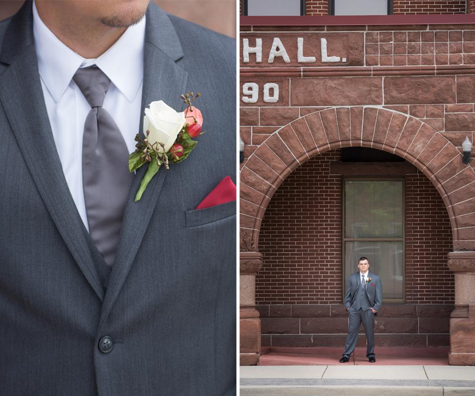 Tux Shop: Emmy's (Jim's Formal Wear) | Minster, OH Tux Designer: Michael Kors Florist: Venetian Gardens | Celina, OH