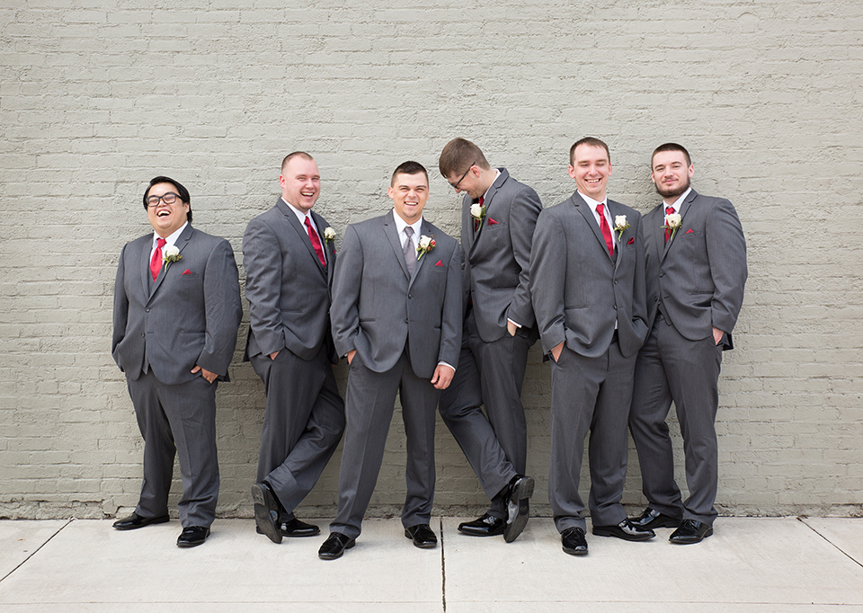 Tux Shop: Emmy's (Jim's Formal Wear) | Minster, OH | gray suits