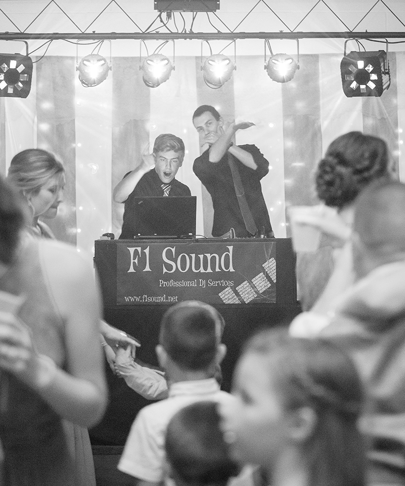 Reception Venue: St. Michael's Hall | Fort Loramie, OH DJ: F1 Sound + Entertainment