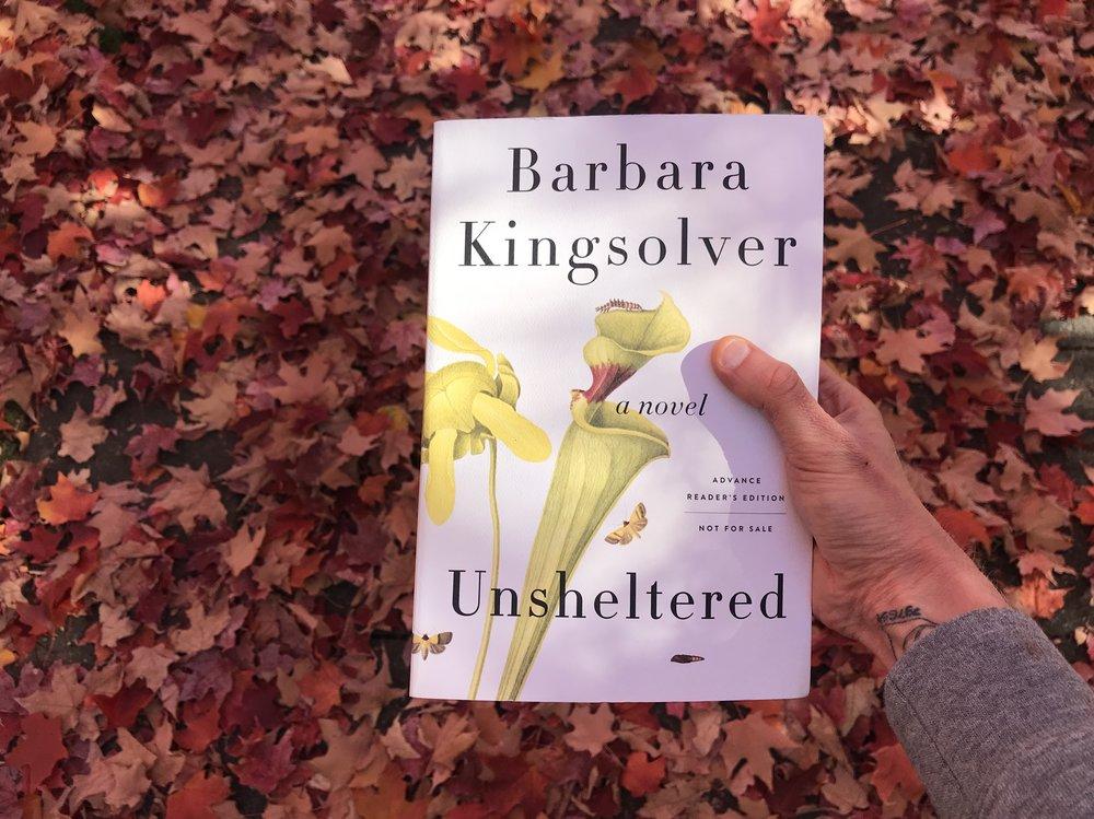 Barbara Kingsolver Unsheltered