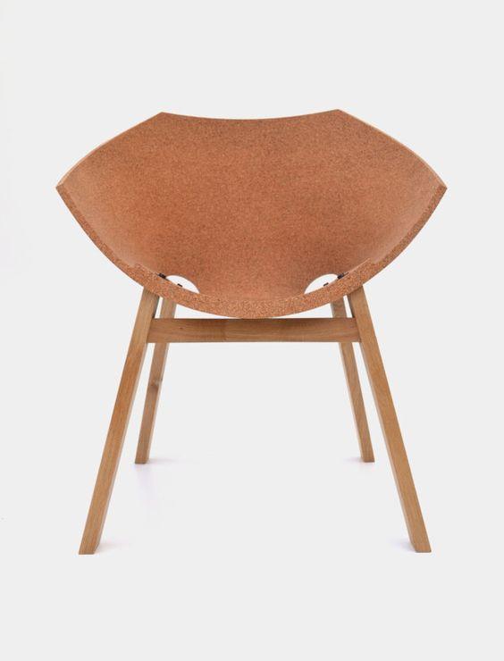 The Corkigami Chair Designed by Carlos Ortega Design