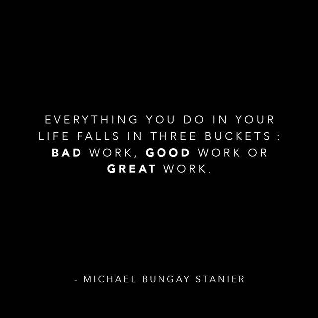 C'est aussi valide au travail! 🔥 #motivation #greatwork #instaquote #businessquotes