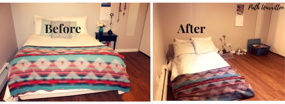 Air mattress life.
