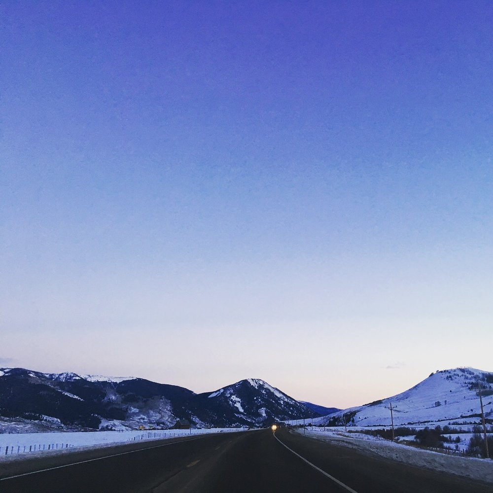 Crested Butte drive