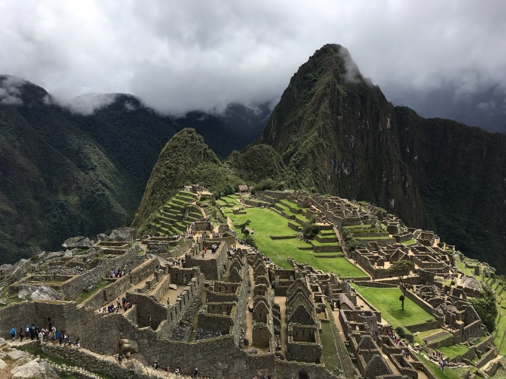 So this happened.  #machupicchu   #incatrail   #aguascalientes   #cusco   #peru   #trekkingperu   #yearoftravel  #solofemaletravel   #travelblog   #pathunwritten