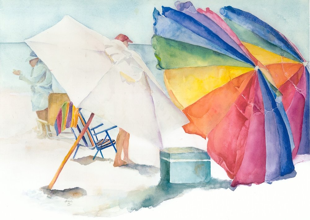 """Beach Umbrellas"""