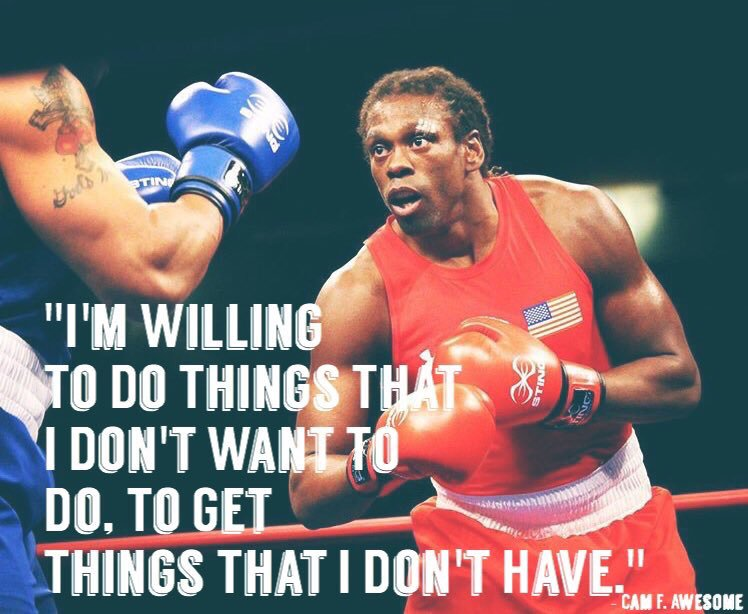 Cam F. Awesome - Olympic Boxer -