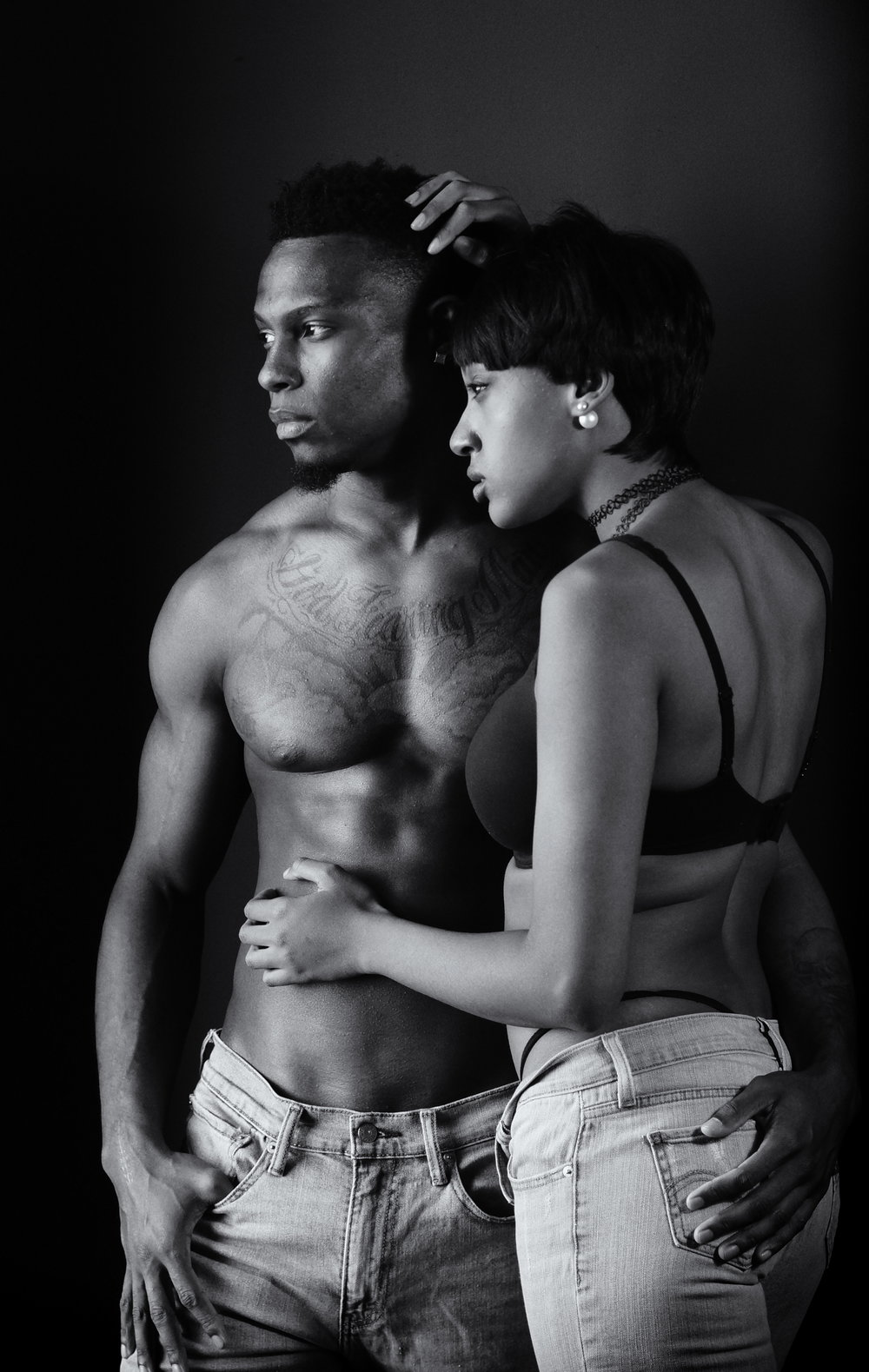 Cyerria and Knick Couple Photo Session
