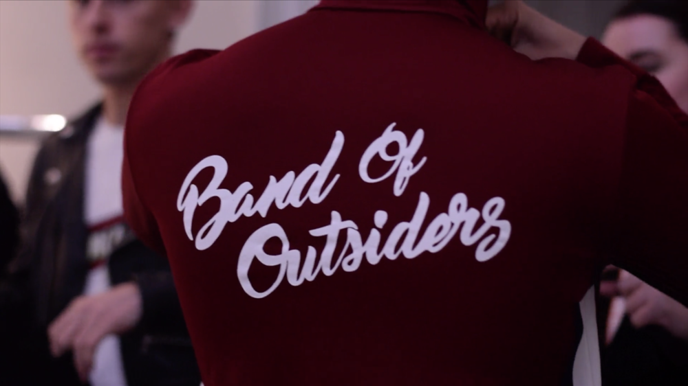 BAND OF OUTSIDERS, LONDON FASHION WEEK (2018) - I shot two videos for the clothing brand Band of Outsiders to coincide with the launch of their Men's Fall/Winter 2018 collection.