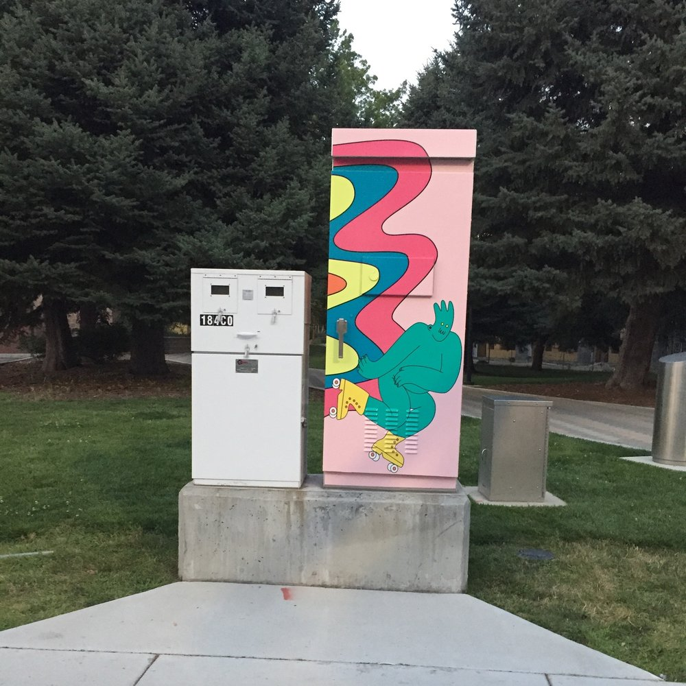 CITY OF BOISE-TRAFFIC BOX COMMISSION 2018
