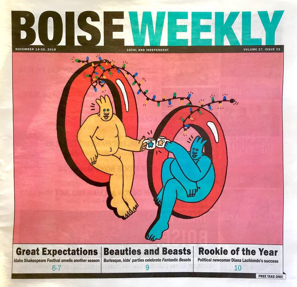 BOISE WEEKLY COVER ART- NOVEMBER 2018