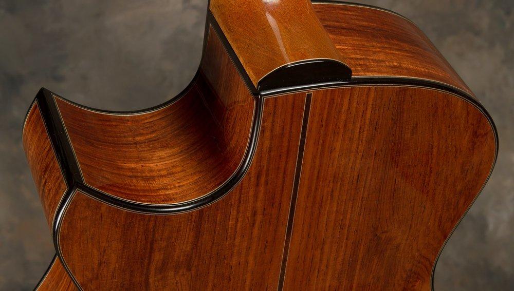 Bashkin Guitars Cutaway