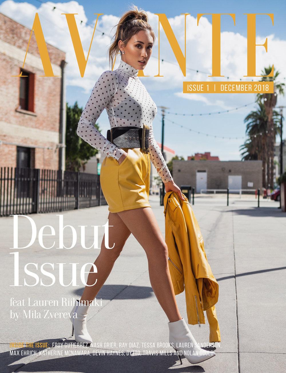 Debut Issue: Lauren Mihimaki Cover