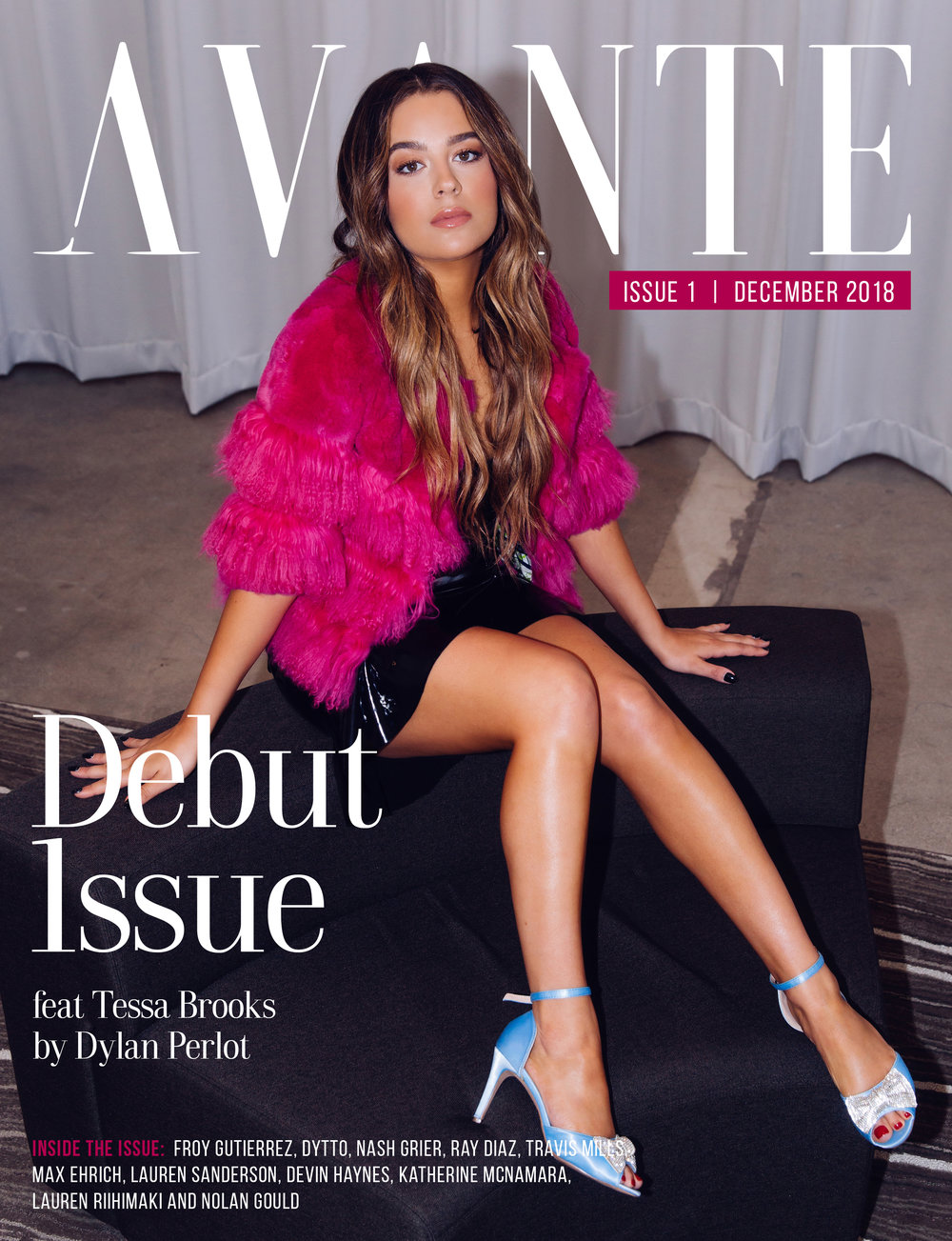 Debut Issue: Tessa Brooks Cover