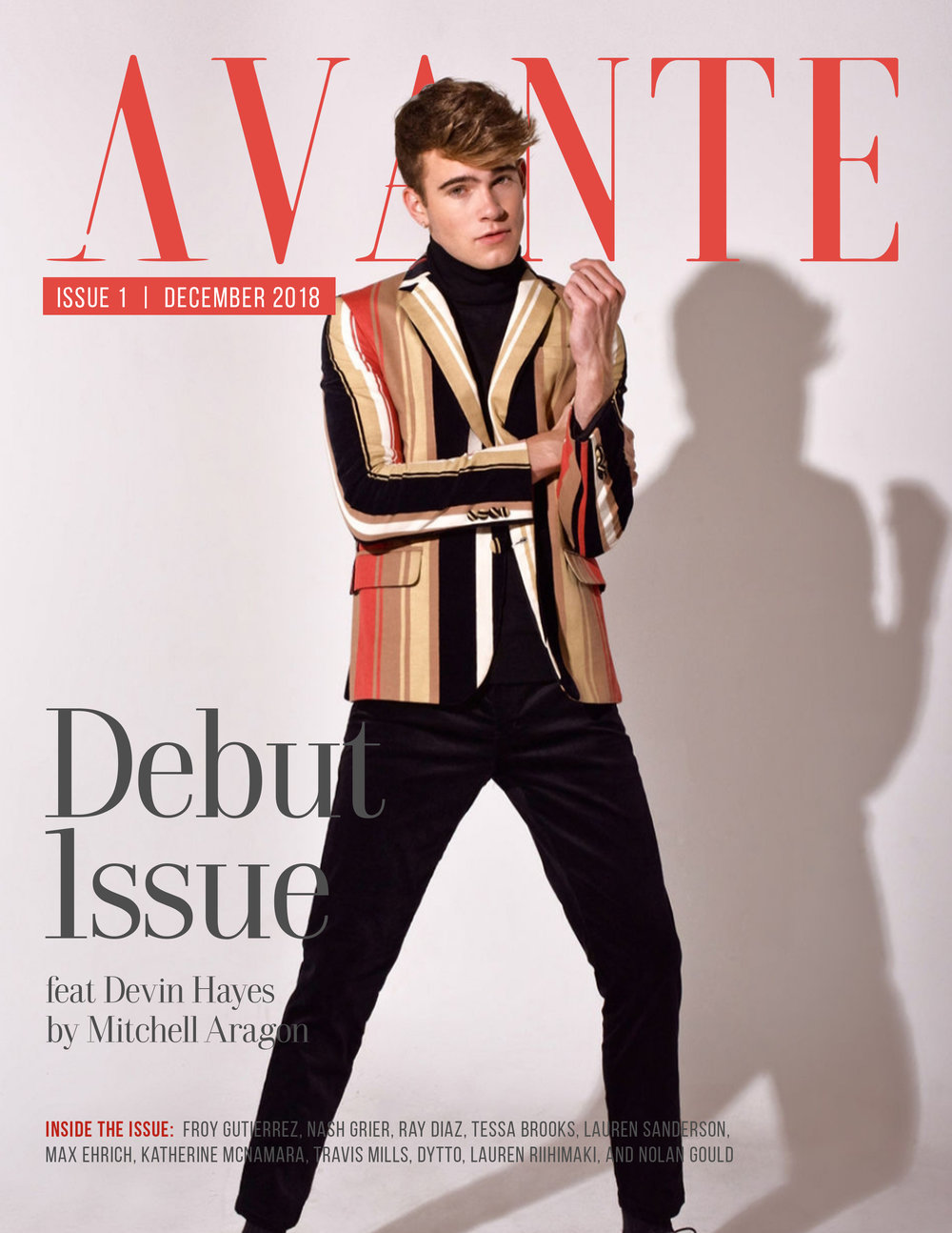Debut Issue: Devin Hayes Cover
