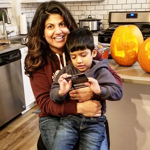 Congratulations to Nisha! Mills Creek's first Chili cook-off winner! #goodtime#millscreek #neighborhood#gettogether#newconstruction#maplegrove#rentalhome#pumkincarving #chilicookoff #halloween