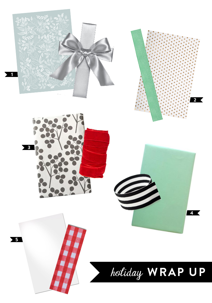 Holiday Wrapping Themes | dotted design