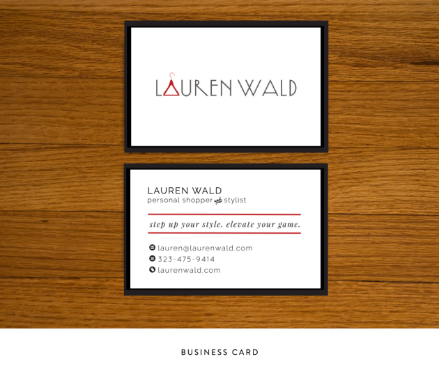 Lauren Wald Business Cards | Dotted Design