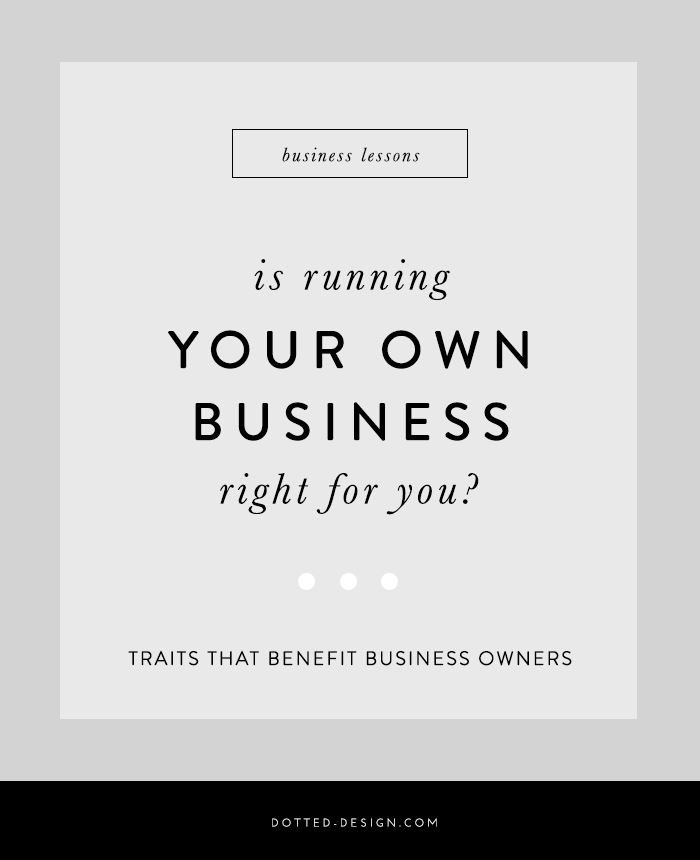 traits of good business owners