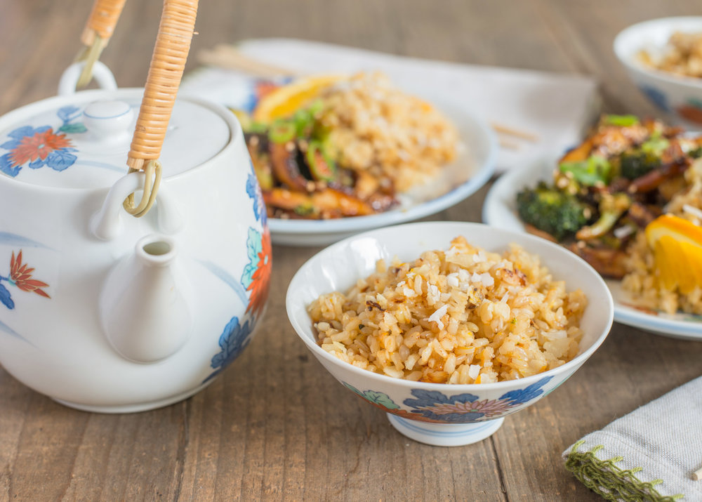 Mixed & Measured | Broccoli & Shiitake Mushrooms with Coconut Rice